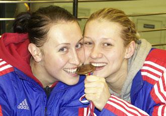 Людмила Постнова и Ирина Близнова
